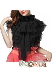 Black Celebrity Mesh Summer Chiffon Gothic Formal Gorgeous Womens Top