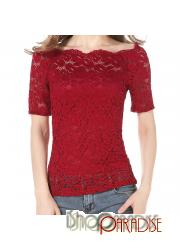 Red Womens Tops