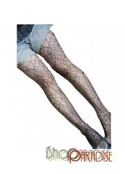 Black NEW Japan Womens Sexy Spider Net See Through Fishnet Pantyhose
