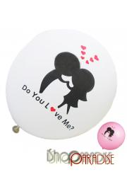Random Wedding Anniversary Do You Love Me Party Balloons Bulk 12 inch