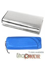 Travel Aluminum Foil Thermal Moisture Proof Roll Up Camping Mat