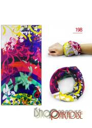 No.198 neck warmer pattern gardening mens sun mask fishing loop Headband