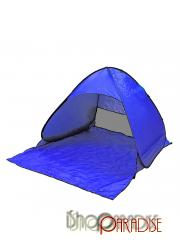 Blue fishing summer UV single layer hiking backpacking Beach quick Tent