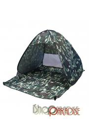 Camouflage folding fishing single layer Beach Dome hiking instant set up Tent