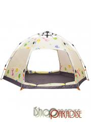 Cartoon shelter instant set up Double Layer beach sun protection Tent