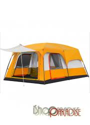 tunnel big Picnic High quality vacation Orange Camping Tent
