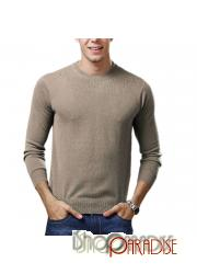 Camel Work Unisex Winter Thin Comfy Mens Cashmere Sweater Wool Jumper