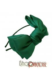 Green Casual Womens Cute Ladies Japan Vintage Big Bow Headband Hair Band