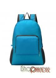 Blue Travelling Foldable Shopping Camping Shoulder Hiking Backpack