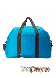 Blue Unisex Shopping Shoppers.Weekends Nylon Casual Foldable Womens Bag