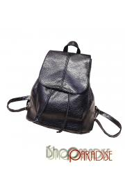 vintage travel casual faux leather school rucksack Womens Backpack