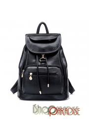 rucksack faux leather school casual book handbag Womens Backpack