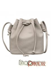 Grey Womens medium casual soft cross shoulder shoulder weekend Bag