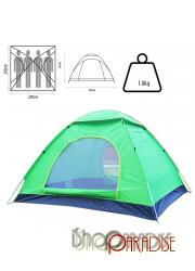 Green Pop Up Festival Dome Outing Beach Camping Easy Light Tent